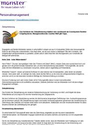 Literatur Zielvereinbarung Studie Zieloptimierung (inkl. Beispiel-Zielvereinbarung)