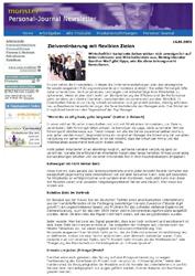 Literatur Zielvereinbarung mit flexiblen Zielen